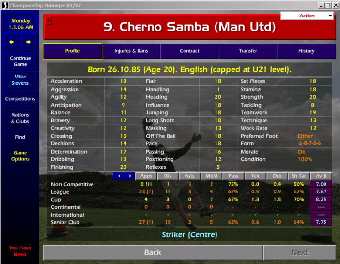 Crack Championship Manager 01 02